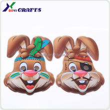 face mask party plastic party masks animal plastic mask party
