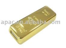 Gratitude large feedback gold 32gb usb flash drive big discount gold bar usb flash drives bulk cheap