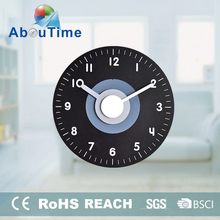 Push wooden led digital alarm animal CE travel wall clock for promotion