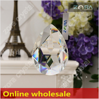 Free sample AAA Top Quality glass chandelier parts-50mm Crystal Drops N209