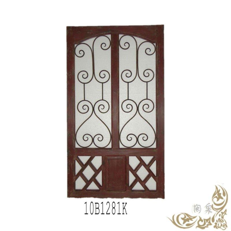 Rectangular iron gate grille designs