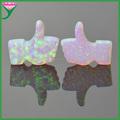 sintético como forma de opala preço por grama com furo de broca