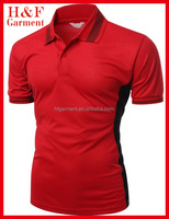 Soft high quality polo shirts with contrast color for men