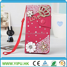 wholesale alibaba bling bling leather luxury phone case for iphone 6 plus