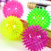 Popular Pet Toy/ ball dog toy/TPU LED light ball flashing light ball toy
