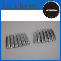 China wholesale stylish car parts chrome auto front grille cover for BMW X1 E84 2010-2013