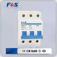 mcb mini cirucit breaker, high breaking miniature circuit breaker, mg miniature circuit breaker