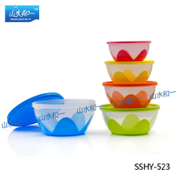 super quality multifunctional watertight SSHY-523 round food storage container store food