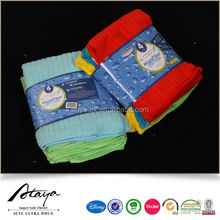 stripe design microfiber terry cleaning cloth in 80% polyester 20% nylon
