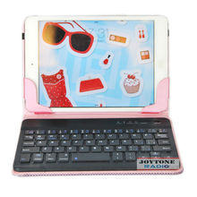 High quality 7 inch portable wireless keyboards bluetooth cover (YNK-8)