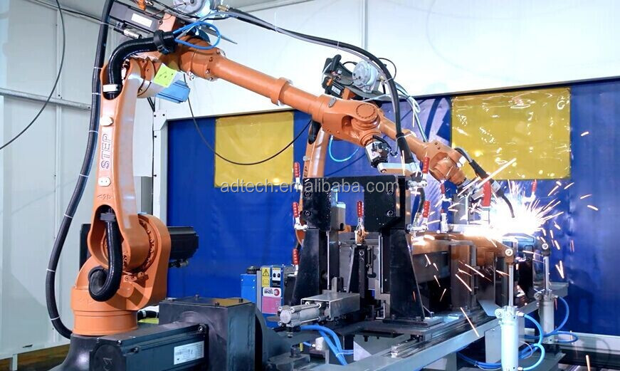 SA1400 6 Axis Welding Robot STEP/ADTECH for MIG welding