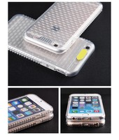 flashing light tpu cell phone case for iphone6 case