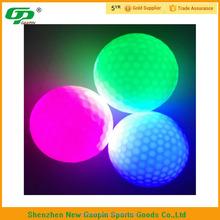new design cheap LED golf ball in dark