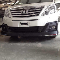 PP Bodykits car body kits Full bodykits Car bumper design For Toyota Alphard 2013-2015 Big Surrounded auto accessories