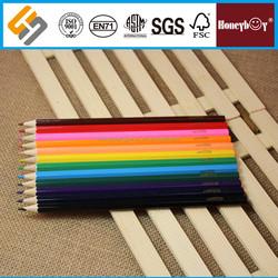 Quadrangular Colored box packing color pencil