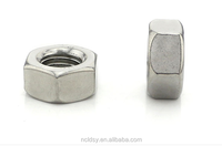 DIN934 hex nut/304 stainless steel hexagon nut with din933 hex bolt/stainless steel bolt and nut