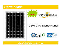 ODA125-24-M Mono 125W solar panel trading companies