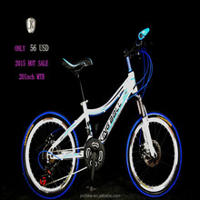 20 inch cheap mountain bicycle