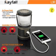 Più potente forte portato lanterna ricarica, lanterna a gas portabl campo