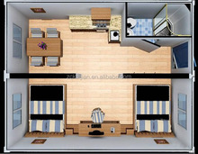 prefab wooden house/ luxury container house/ temporary house