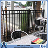"""58"""" h dupont powder coated metal pipe security outdoor wrought iron fence"""