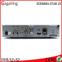 Pakistan satellite receiver Original Zgemma Star 2S DVB-S2+C tuner Sintonizador Enigma2 Satellite receiver supermax hd