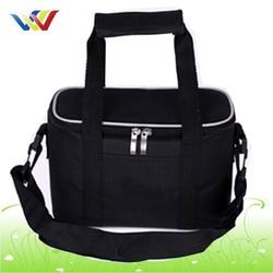 black high quality waterproof wine cooler bag