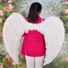 Wholesale adult stage performances king feather wings angel wings Masquerade Halloween Props