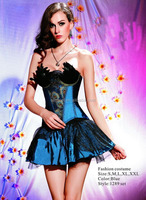 1289 high quality Blue peacock halloween costumes china wholesale