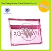 Custom High Quality Cheap Transparent PVC material travel organizer