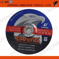 """T42 manufacture high quality 7"""" fiber cutting wheel for metal and inox (180*3*22mm)"""