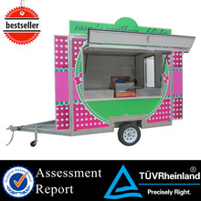 2015 New food kiosk for sale american food carts mobile food cart design