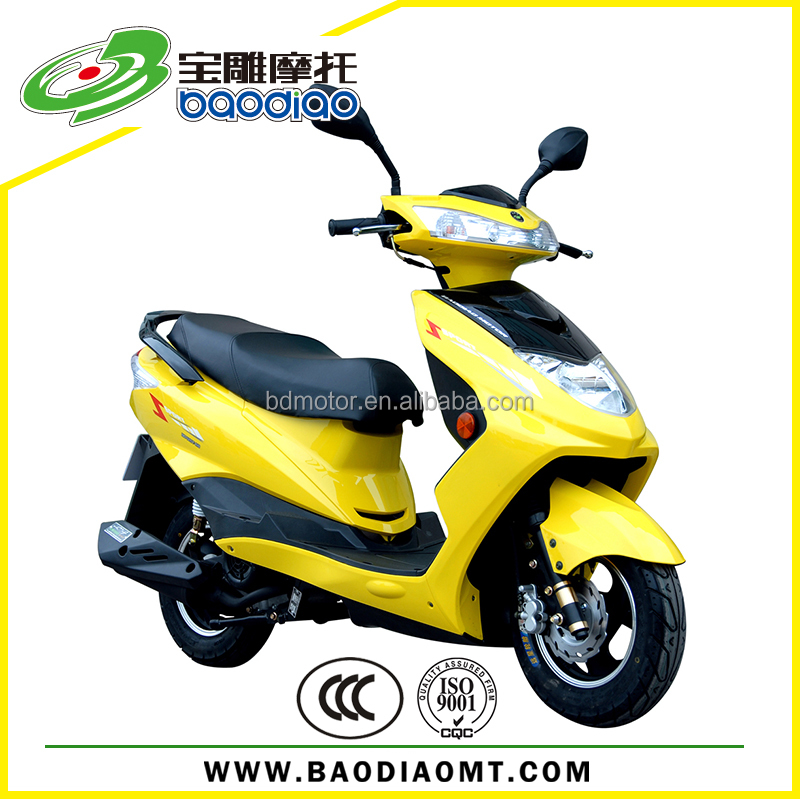 Baodiao new cheap gas scooter 80cc four stroke engine for Cheap gas motor scooters
