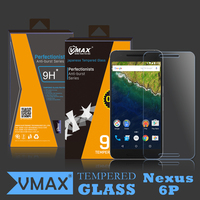 Brand Vmax 2.5D Round edge Cell Phone tempered glass screen protector for huawei nexus 6p OEM/ODM