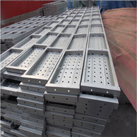 metal scaffolding plank or board used for scaffolding system