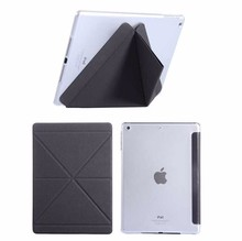 2015 hot sale transparent TPU case for ipad air 2 leather case wholesale