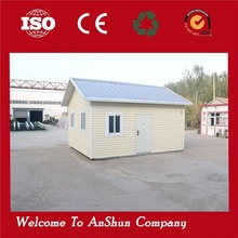 fire proof movable 40 ft container prefab houses