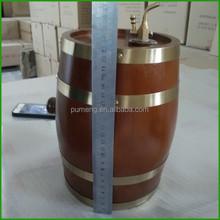 Wood Craft And Beer Usage Decorative Mini 3Liter Oak Barrels