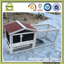 SDR15 large 2 story rabbit hutch with playrun