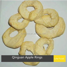 air dried Qinguan apple rings without core