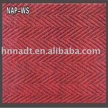 PVC door mat, ribbed door mat