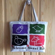 custom factory direct sale fashion gift cotton bag