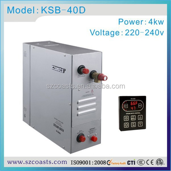4kw 220v Electric Shower Ce Steam Generator Home Use Price
