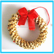 Fashion Cute Christmas Festival wheat straw circles decorations