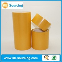 heat resistant double sided tape, double side glassine release paper,double sided film