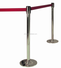 Stainless Steel Retractable One Metre Line Barrier