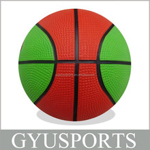 GY-D025 Cheap Hot Sale Rubber Mini Promotional Basketball