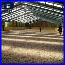steel structure galvanized horse stables