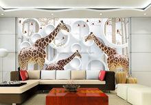 metal craft designs wall decors 3d giraffe picture wall mural, printable wall murals, wall hanging murals