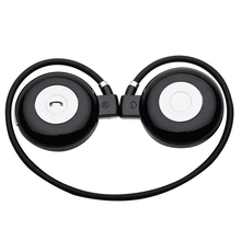 Mini foldable portable headphone headset earphone with bluetooth handsfree function